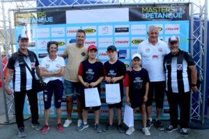Vainqueur Masters Jeunes étape Saint-Tropez