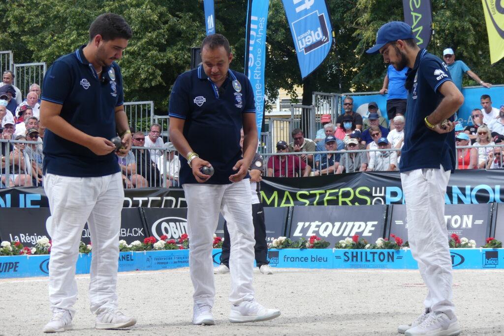 équipe d'Italie, Masters de Pétanque, Diego Rizzi, Andrea Chiapello, Alessio Cocciolo